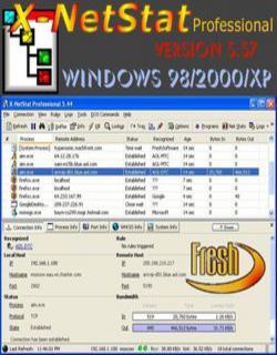 X-NetStat Professional v5.57. Скачать бесплатно: музыка, фильмы, софт, игр