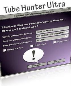 TubeHunter Ultra позволяет скачивать видео более чем с четырехсот.